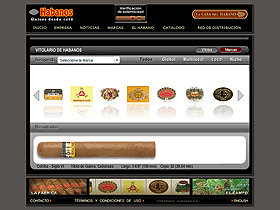 Habanos Official website